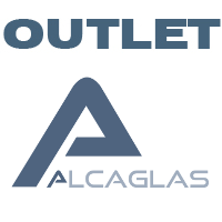Outlet of products from Alcaglas