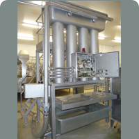 Manufacturing and processing cheese machines