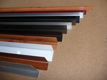 Perfiler a de aluminio normalizada varios colores y medidas for Colores ventanas aluminio lacado