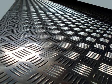 Chapas aluminio para suelos