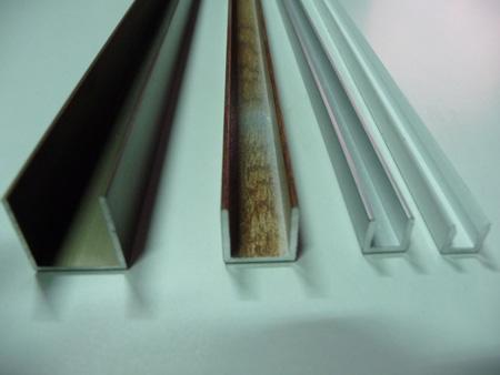Perfiler a de aluminio cortada a medida for Colores de perfiles de aluminio