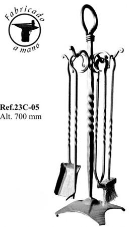 Juego de herramientas o utensilios para estufas y chimeneas - Utensilios para chimeneas ...