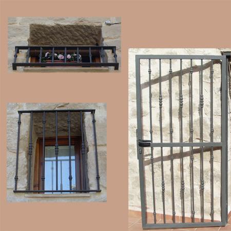 Forja para balcones ventanas y puertas for Ventana balcon medidas