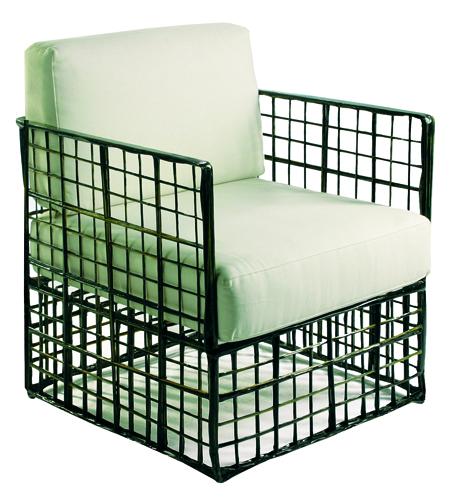 Sill n de fibra de vidrio y poli ster ideal para comedores - Mobiliario para jardin ...