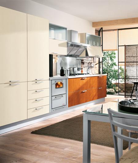 Cocinas con cocina de lea good muebles de cocina eurokit rojo blanco with cocinas con cocina de - Eurokit cocinas ...