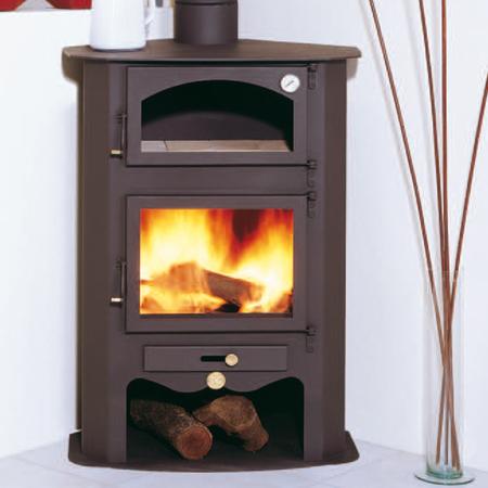 Estufas con horno - Estufas de lena para calefaccion con radiadores ...