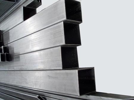 Perfiler a y chapas de hierro cortadas a medida for Tubos de hierro rectangulares