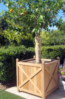 Jardineras - Plastico para jardineras de madera ...