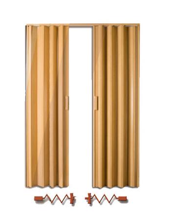 Puertas for Puerta de acordeon castorama