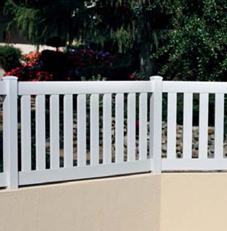 Vallas de exterior for Vallas de aluminio para jardin