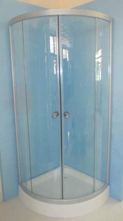 M mpara de ducha semicircular for Esquineras para banos