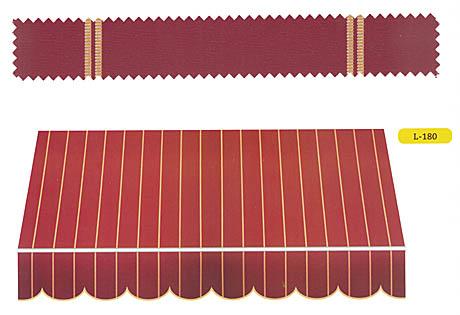 Toldo reforzado para terrazas balcones o porches exteriores for Perfiles para toldos correderos
