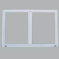 Double side hung windows