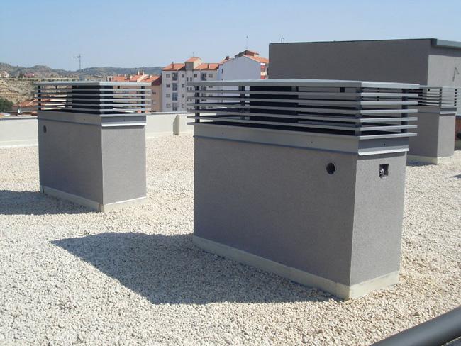 Chimenea de ventilaci n fabricada en hierro - Salidas de humos para chimeneas ...