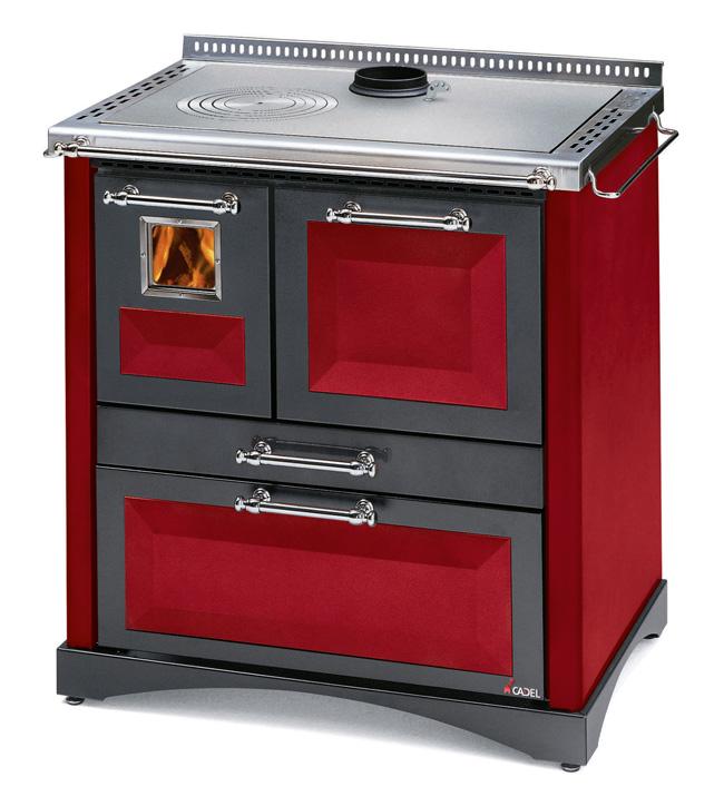 Cocina de le a econ mica con horno oculto de 8 9 kw - Cocinas con horno de lena ...