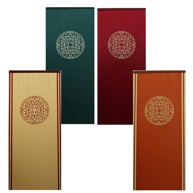 Cortinas con simbolo tnico para colocar en exterior for Cortina puerta exterior ikea