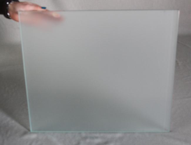 Vidrio rectangular mate ideal para colocar en lavabos - Colocar vinilo en cristal ...