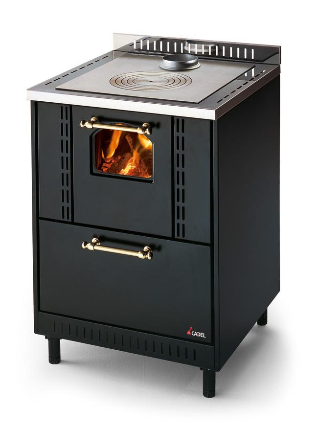 Cocina ventilada de le a con 8 5 kw de potencia - Cocina economica a lena ...