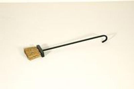Til de limpieza para chimeneas escobilla de forja - Limpieza chimeneas de lena ...