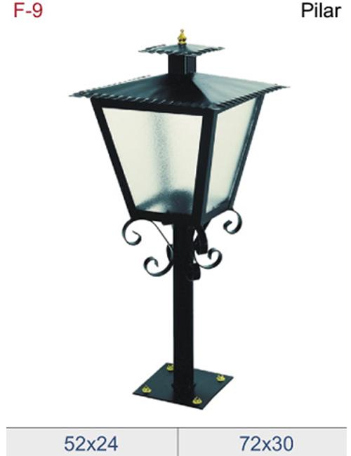 Faroles para iluminar los caminos de viviendas o jardines - Farol solar para jardines y exteriores ...