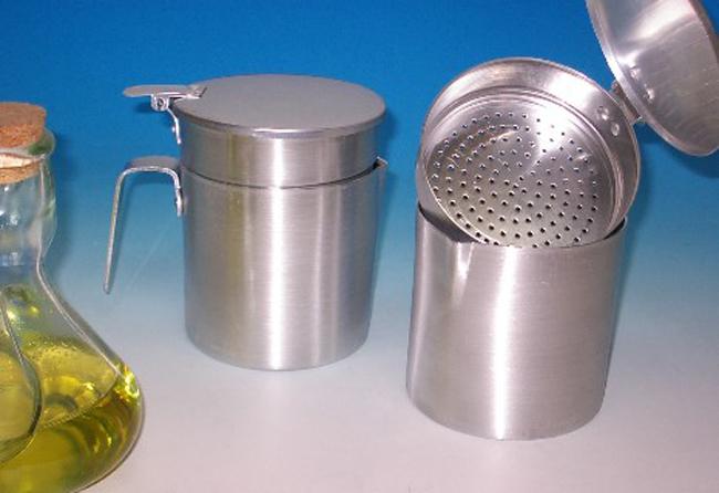 Grasera de aluminio para recogida de aceite usado for Recipientes cocina