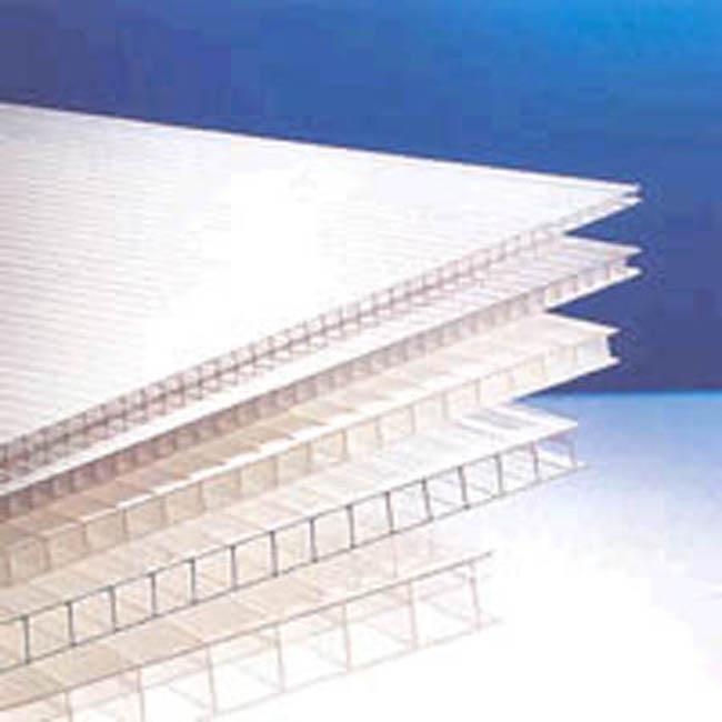 Plancha de policarbonato para cerramientos exteriores - Placa de policarbonato celular ...