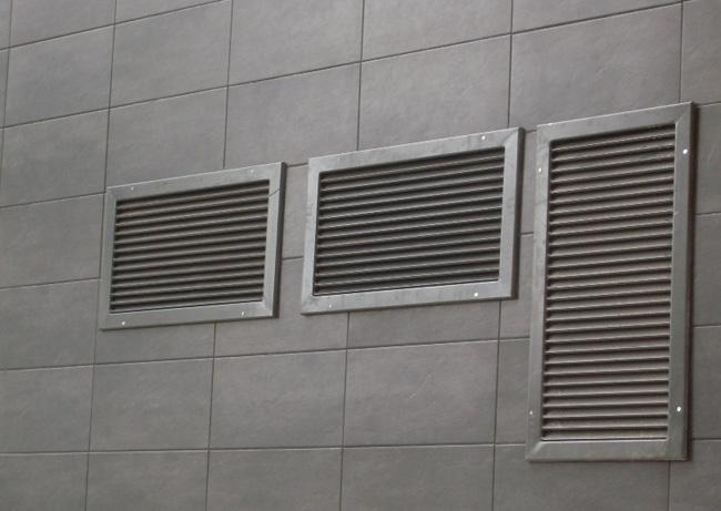 Rejillas de ventilaci n para naves viviendas o centros - Rejilla de ventilacion regulable ...