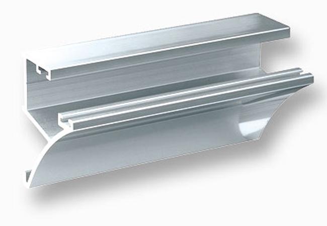 Barra soporta estante a medida - Estanteria de aluminio ...