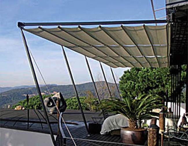 Toldos correderas para terraza y jard n - Toldos de tela para terrazas ...