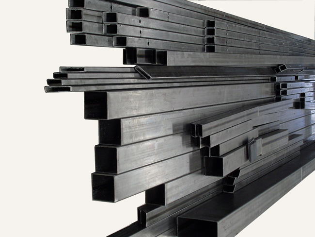 Perfiler a rectangular de hierro cortada a medida for Tubos de hierro rectangulares