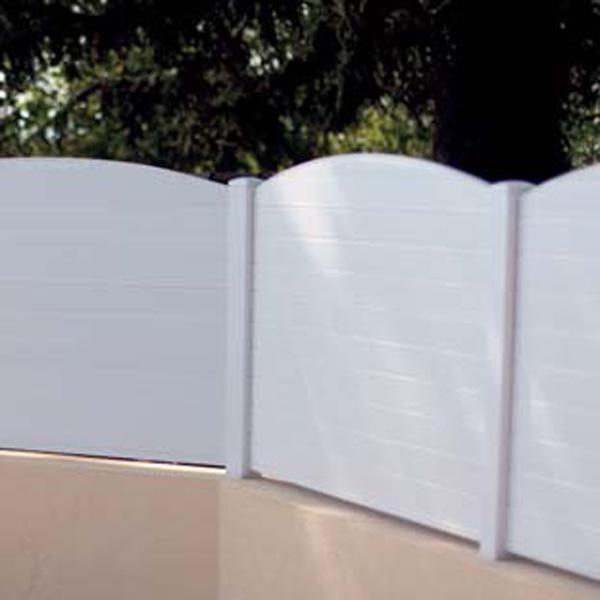 Valla de exterior para proteger tu jardin - Valla jardin pvc ...