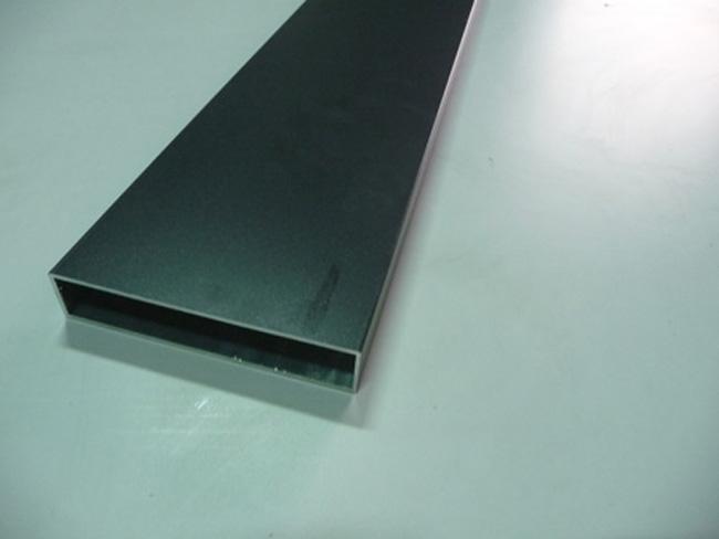 Aluminum rectangular profiles